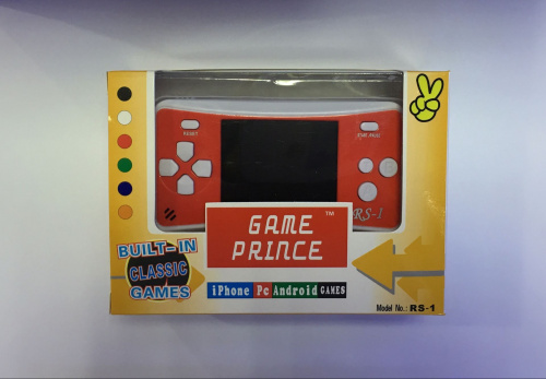 RS-1 Game Prince revised packaging (front)