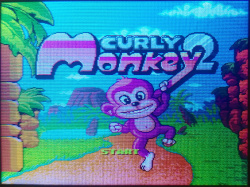 Curly Monkey 2 title screen