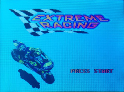 Extreme Racing title screen
