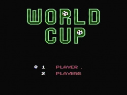 World Cup title screen